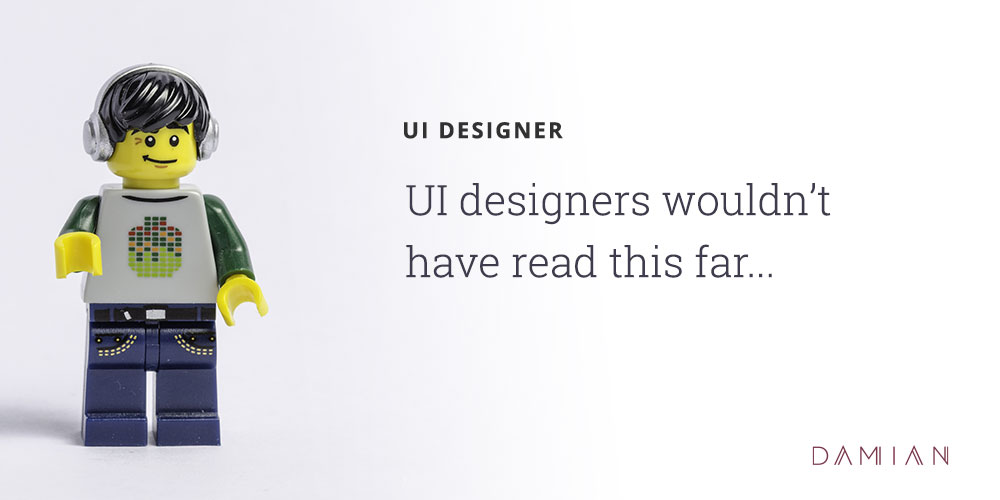 Creative Agency Personalities: UI Designer