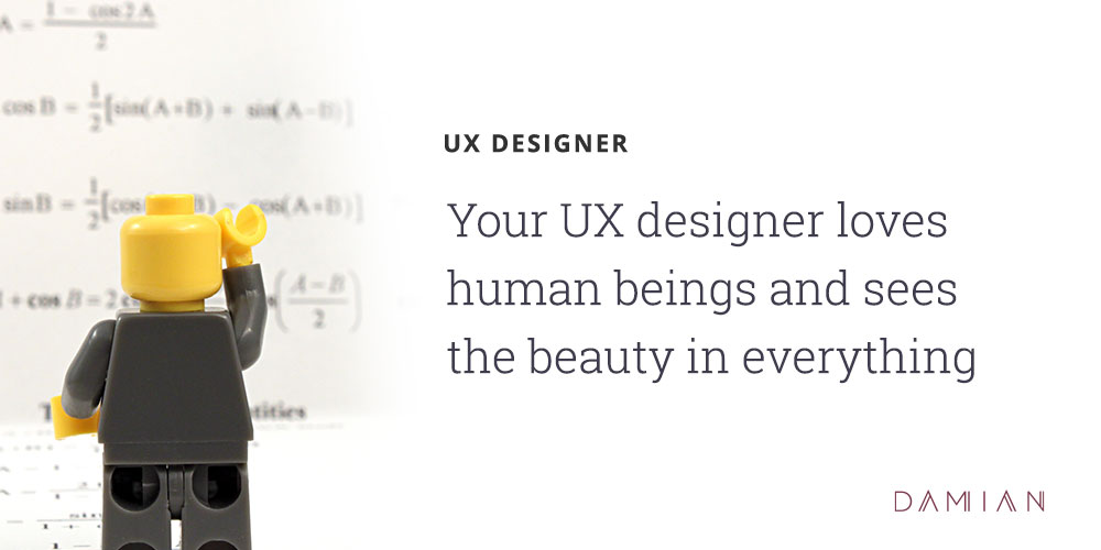 Creative Agency Personalities: UX Designer
