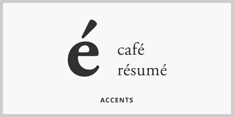 typography-accent